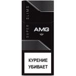 Сигареты AMG Супер Слим Блэк