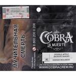 Табак кальянный Кобра Ла Муэрте Двойное яблоко 40 гр.